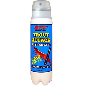 Аттрактант SFT Trout Attack Shrimp Smell