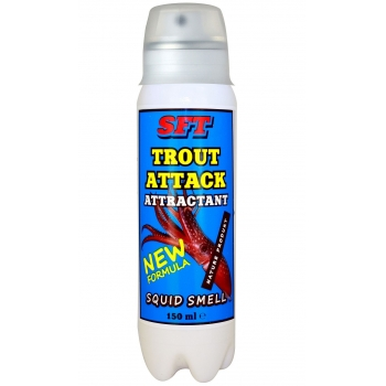Аттрактант SFT Trout Attack Squid Smell