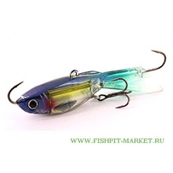 балансир xp baits ice jig butterfly 60-50 blue whitebait