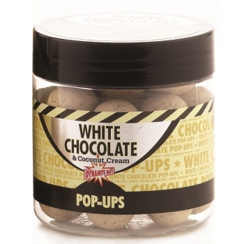 бойлы плав. dynamite baits 15 мм. white chocolate & coconut cream