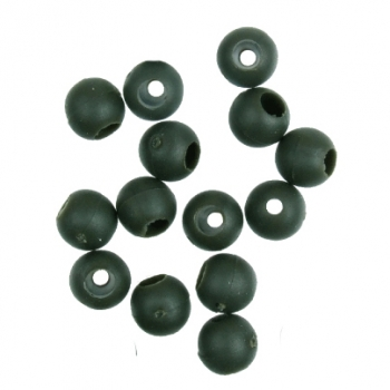 Бусина резиновая Gardner Covert Safety Beads Green 4 mm