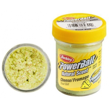 форелевая паста berkley trout bait light green glitter cheese
