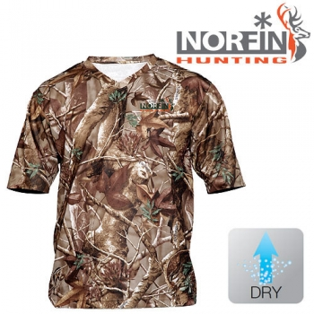Футболка Norfin HUNTING ALDER PASSION GREEN 03 р.L
