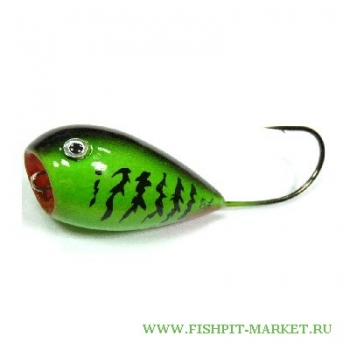 Хорватское яйцо BUMBLE LURE Popper P-9 Green
