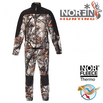 Костюм флисовый Norfin HUNTING FOREST STAIDNESS 04 р.XL