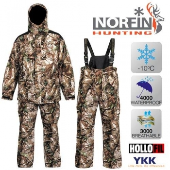Костюм зимний Norfin HUNTING GAME PASSION GREEN 01 р.S