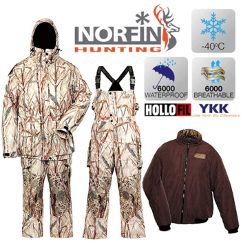 Костюм зимний Norfin HUNTING NORTH RITZ 04 р.XL