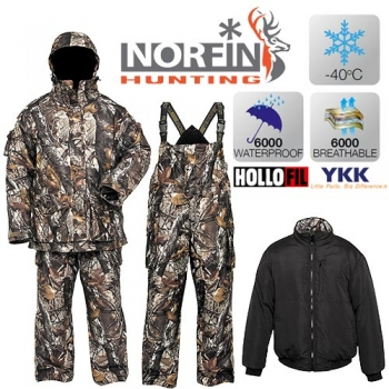 Костюм зимний Norfin HUNTING NORTH STAIDNESS 03 р.L
