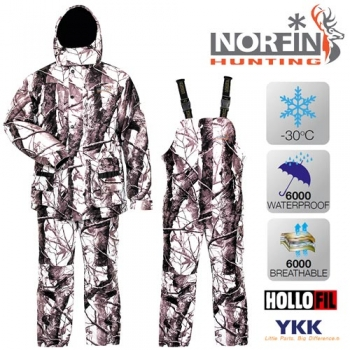 Костюм зимний Norfin HUNTING WILD SNOW 06 р.XXXL