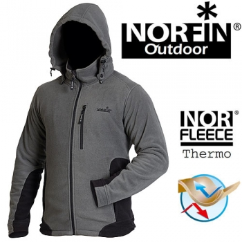 Куртка флисовая Norfin OUTDOOR GRAY р-р M