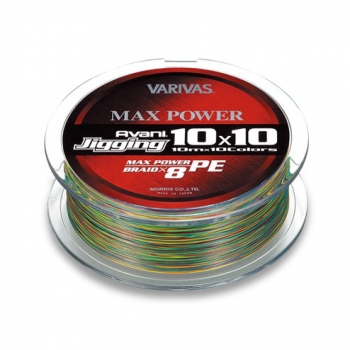 плетеный шнур varivas avani jigging 10x10 max power 200 м.
