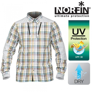 Рубашка Norfin SUMMER LONG SLEEVES р.XXXL
