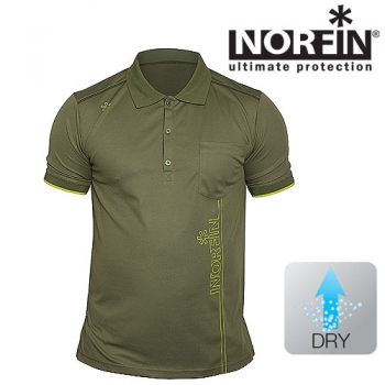 Рубашка поло Norfin GREEN р.XL