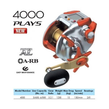 рыболовная катушка shimano dendou-maru 4000 plays
