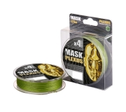 Плетеный шнур Akkoi Mask Plexus X4-125 Green 125м