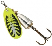 Блесна Blue Fox Vibrax Fluorescent BFF1-YT