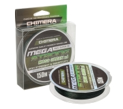 Плетеный шнур Chimera Mega Strong X4 Moss Green 150м