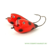 Хорватское яйцо BUMBLE LURE Killer Frog KF-15LB