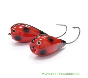 Хорватское яйцо BUMBLE LURE Killer Popper KP-15LB