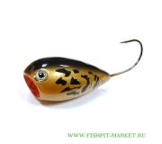 Хорватское яйцо BUMBLE LURE Popper P-7 Gold