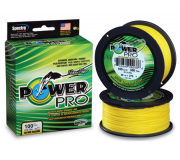 Плетеный шнур Power Pro Hi-Vis Yellow 92м