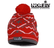 Шапка Norfin Women NORWAY RED р.L