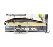 Воблер Megabass Vision 95 Q-GO MG Deadly Black Illusion