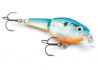 воблер rapala jointed shallow shad rap jssr07-bsd