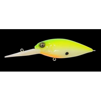 Воблер Megabass Deep-X 300 Power Knocker Bone Lime Chart