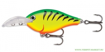 Воблер Rapala Scatter Rap Crank Deep DSCRC05-FT