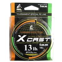 Sunline X-Cast PE Orange/Green