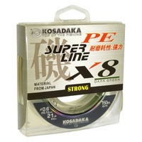 Kosadaka Super PE X8 Dark Green