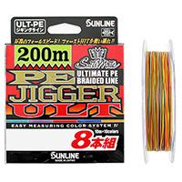 Sunline PE Jigger ULT x8 Brade 200м
