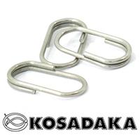 Заводные кольца овальное Kosadaka 1215N