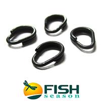 Заводные разводящиеся кольца Fish Season Egg Ring WD