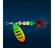 Вращающаяся блесна Sprut Caspia Spinner 3-FTL