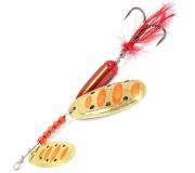 Вращающаяся блесна Sprut Kokoro Spinner 15,5гр цвет GOBK