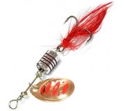 Вращающаяся блесна Sprut Makuro Spinner 3гр цвет CR