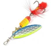 Вращающаяся блесна Sprut Oruto Spinner 4,5гр цвет STB