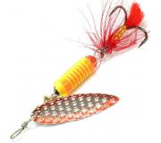 Вращающаяся блесна Sprut Oruto Spinner 7гр цвет SOR