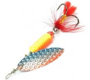 Вращающаяся блесна Sprut Oruto Spinner 9гр цвет STB
