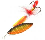 Вращающаяся блесна Sprut Oruto Spinner 12гр цвет GOBK
