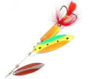 Вращающаяся блесна Sprut Oso Spinner 12гр цвет SR-FTL