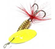 Вращающаяся блесна Sprut Rindo Spinner 6гр цвет T