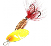 Вращающаяся блесна Sprut Rindo Spinner 6гр цвет TO