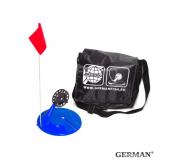 Жерлицы синии German неоснащенные в малой черной сумке 10 шт