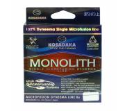 Плетеный шнур Kosadaka Monolith Clear 0,08мм