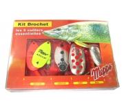 Набор блесен Mepps Kit Brochet для ловли щуки