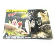Набор блесен Mepps Kit Carnassiers на хищника