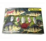 Набор блесен Mepps Kit Perch для ловли окуня